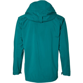 Basil Skane Rain Jacket Men teal green